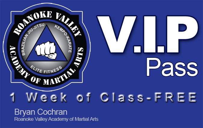 1 week of free karate classes